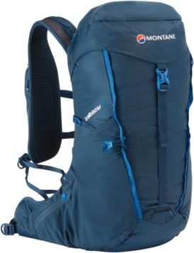 Montane Trailblazer Lightweight Trekking Backpack, 25L Narwhal Blue