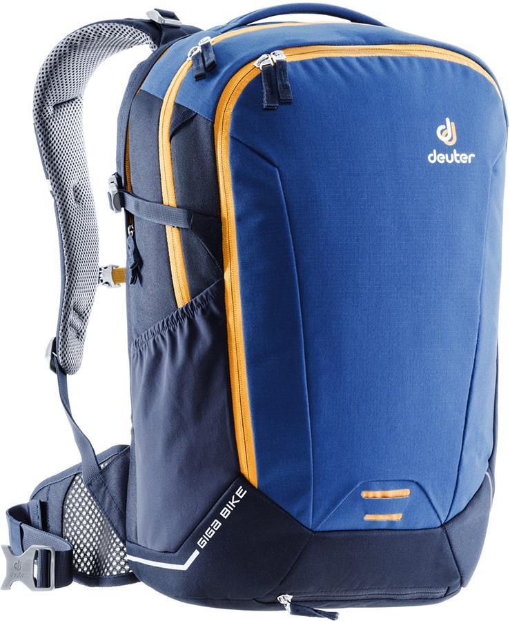 Deuter Giga Bike Daypack Laptop Urban Backpack, 28L Steel/Navy