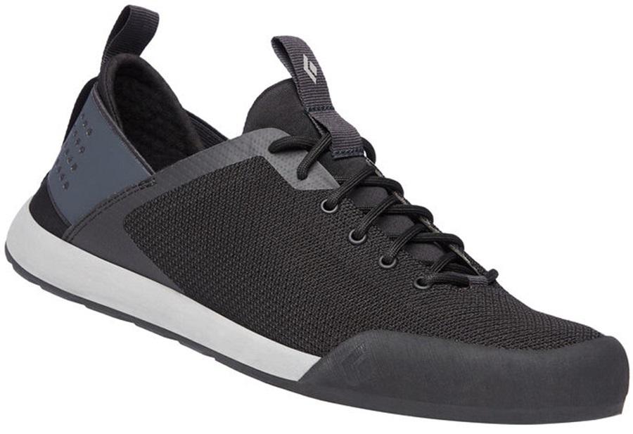 Black Diamond Session Approach Shoes Sock-Fit, UK 7 Black