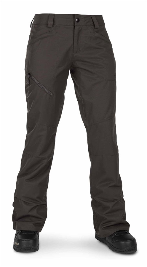 Volcom Hallen Pant Women's Snowboard/Ski Pants M Vintage Black