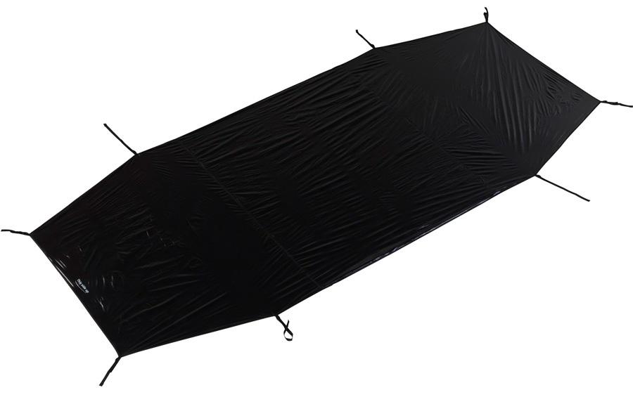 Nordisk Tent Footprint Halland 2 Waterproof Groundsheet, Black