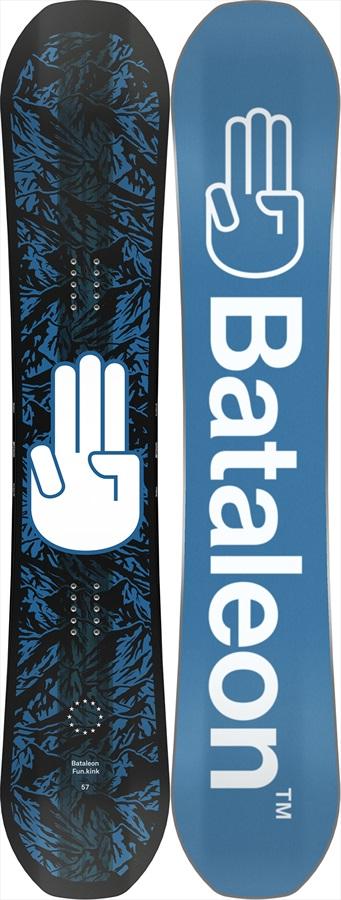 Bataleon Fun Kink Hybrid 3bt Camber Snowboard, 151cm 2021