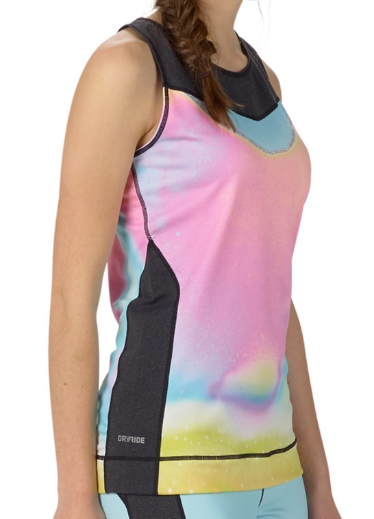 Burton Active Tank Women's Thermal Vest Top, XS Unicorn Tears