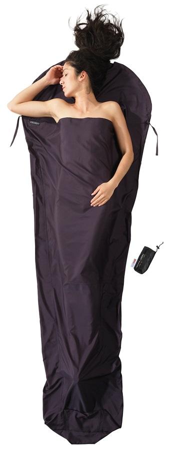 Cocoon Thermolite Silkweight Mummyliner Sleeping Bag Liner, Volcano