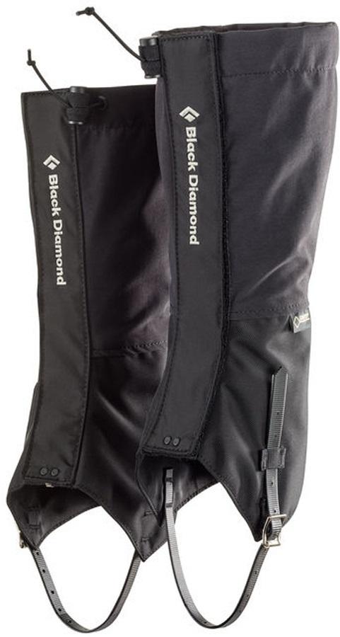 Black Diamond Frontpoint Gaiter Gore-Tex Ice Climbing Gaiter, XL Black