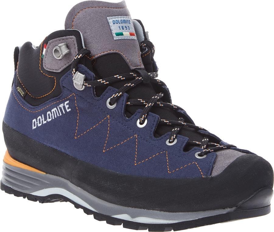 Dolomite Torq Lite GTX Hiking Boots, UK 6.5 Pewter/Night Blue