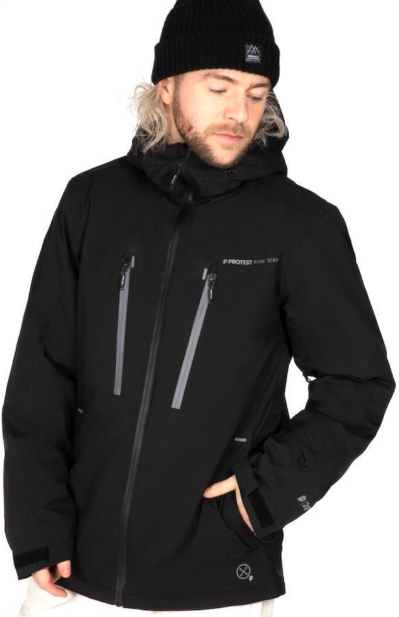 Protest Timo Men's Ski/Snowboard Jacket, L True Black