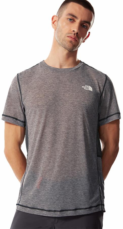 The North Face Circadian Short Sleeve T-shirt, L White Heather