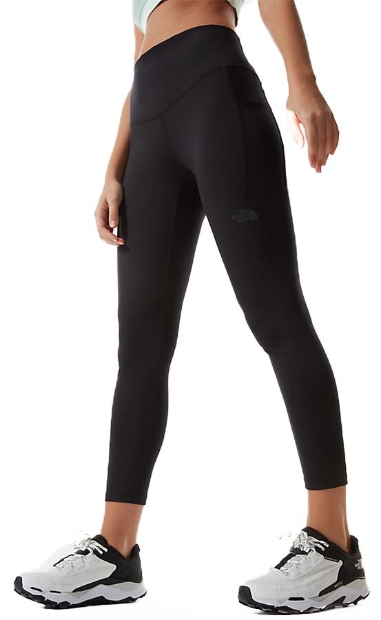 The North Face Wander High Rise 7/8 Women's Tights, UK 10 Black