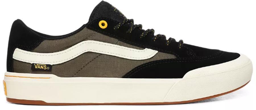 Vans Berle Pro Surplus Skate Trainers/Shoes, UK 7.5 Black/Military