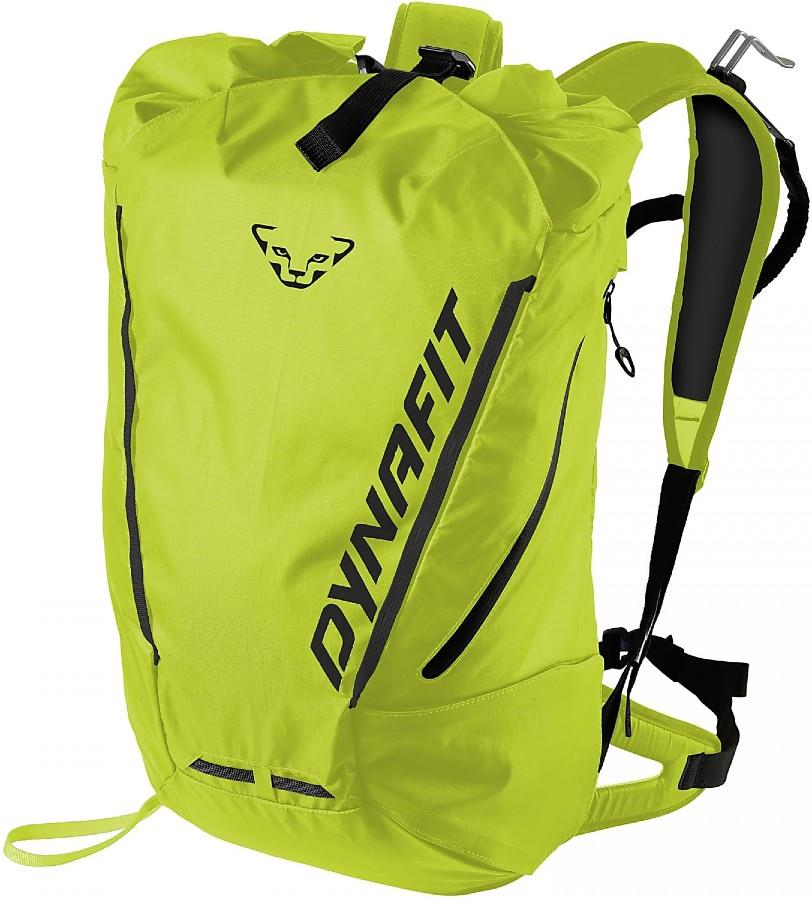 Dynafit Adult Unisex Expedition 30 Roll-Top Backpack, 30l Lime Punch/Black