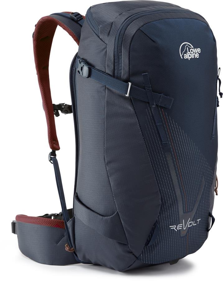 Lowe Alpine Revolt Snowboard & Skiing Backpack, 25L Navy