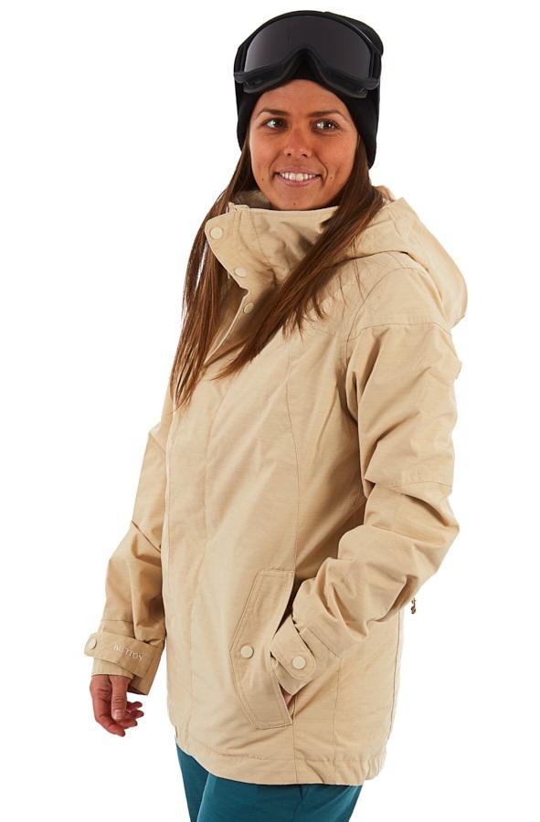 Burton Jet Set Women's Snowboard/Ski Jacket, S Pebble Heather