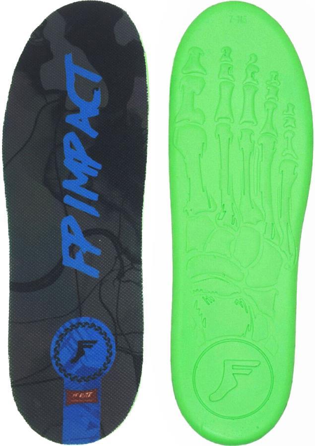 Footprint Kingfoam Elite Mid Shock Protection Insoles UK 8-13 Blue