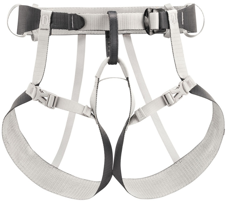 Petzl Tour Adult Climbing Harness, S/M Gray Anthracite