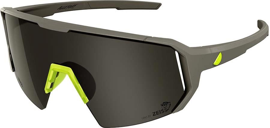 Melon Adult Unisex Alleycat Smoke Performace Sunglasses, M/L Grey/Yellow
