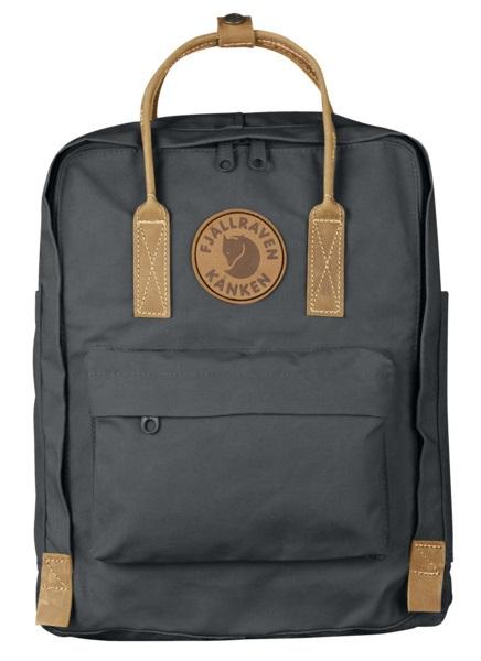 Fjallraven Kanken No.2 Day Pack/Backpack, 16L Super Grey
