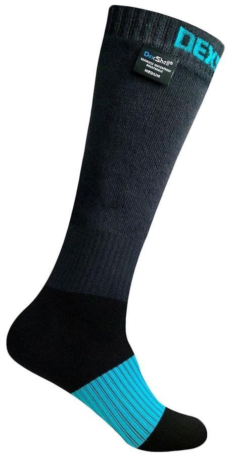 DexShell Extreme Sports Waterproof Socks, UK 3-5 Black/Blue