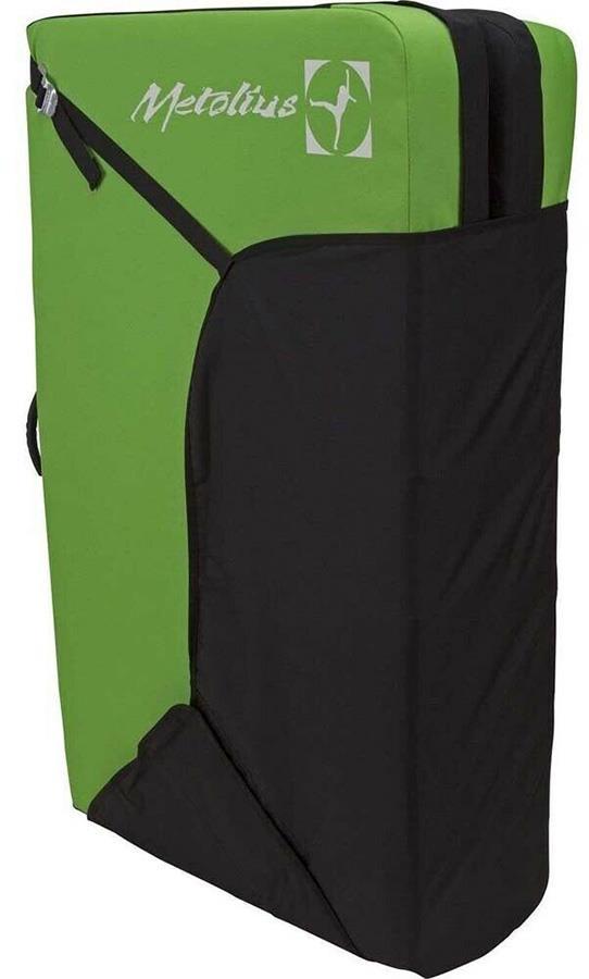 Metolius Session II Bouldering Crash Pad 91 x 122 x 10cm Green/Black