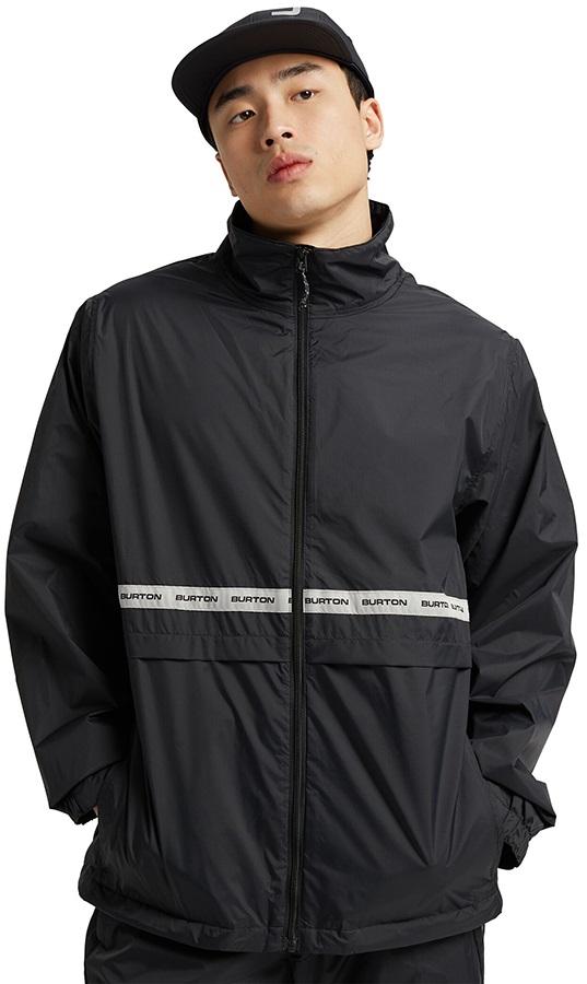 Burton Melter Waterproof Windbreaker Jacket, M True Black
