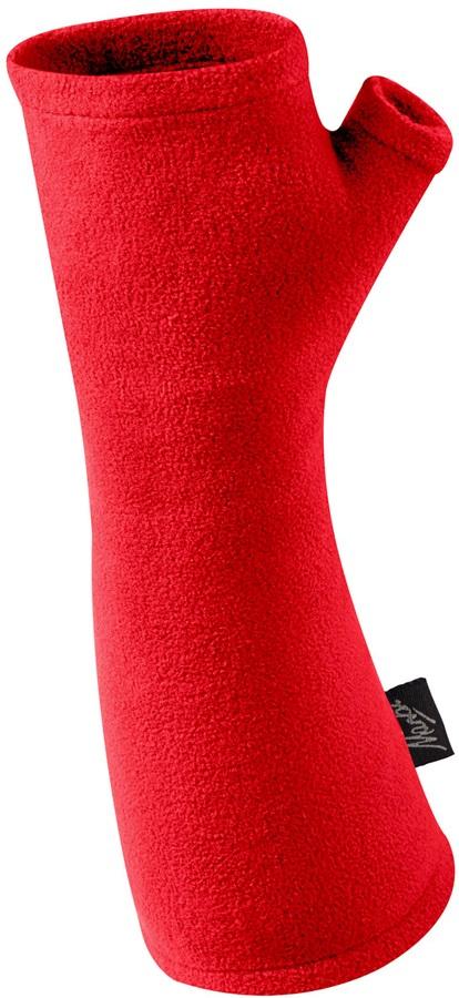 Manbi MicroFleece Wrist Warmers, L True Red