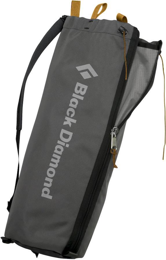 Black Diamond Rope Bucket Rock Climbing Rope Bag, Grey