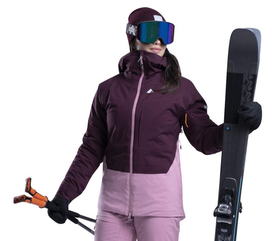 Orage Nina Women's Ski/Snowboard Jacket, S Cranberry