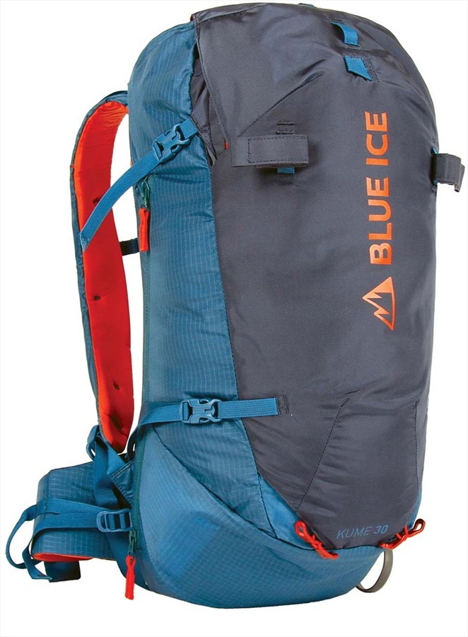 Blue Ice Kume 30L Backpack Mountaineering Pack, 30L Ensign Blue