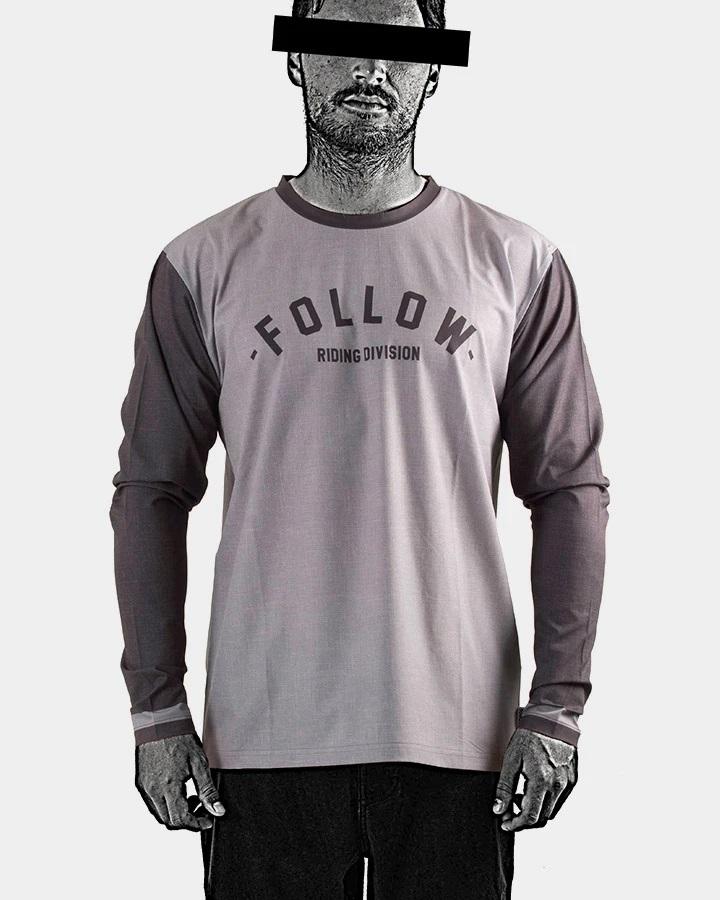 Follow Hydro L/S T Shirt, M Grey 2021
