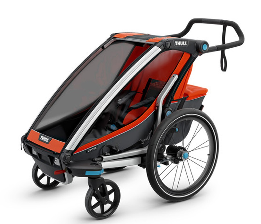 Thule Chariot Cross 1 Child Carrier + Cycle & Strolling ...