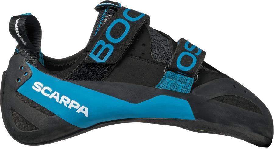 Scarpa Boostic Rock Climbing Shoe, UK 2.5   EU 35 Black/Azure