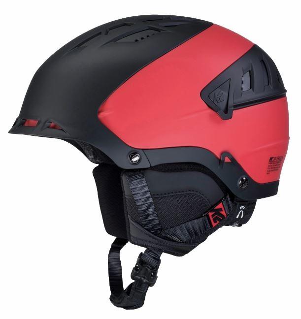 K2 Diversion Snow/Bike Helmet, L/XL Black/Red