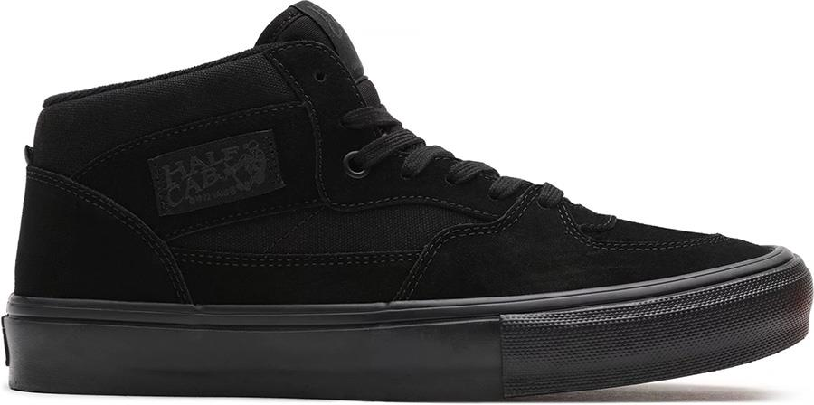 Vans Skate Half Cab Trainers/Shoes, UK 7 Black/Black