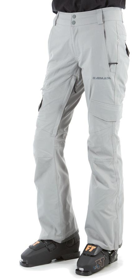 Armada Whit Stretch Women's Snowboarding/Ski Pants, S Shark Skin
