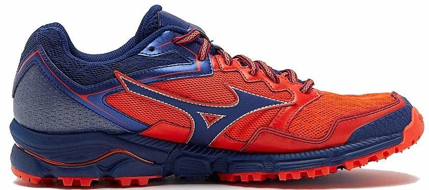 Mizuno Wave Daichi 3 Men's Trail Running Shoe, UK 7 Cherry Tomato