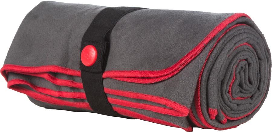 Red Original Quick Drying Microfibre Towel Travel Cloth, O/S Grey