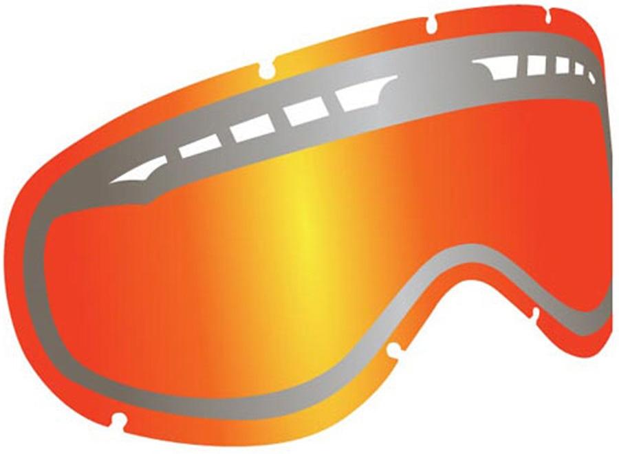 Dragon DXS Snowboard/Ski Goggles Spare Lens LumaLens Red Ionized