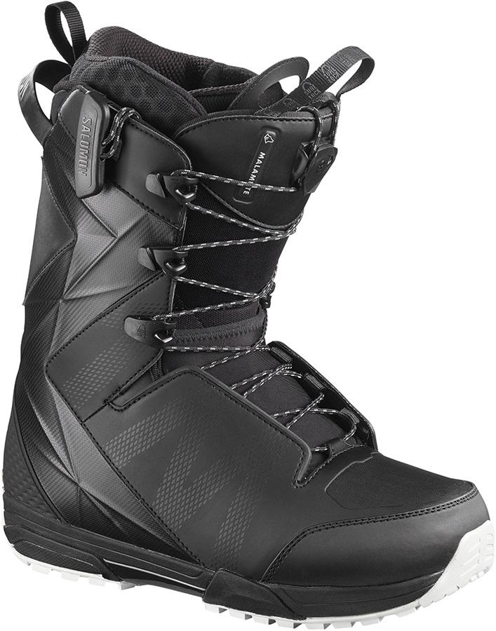 Salomon Malamute Mens Snowboard Boot, UK 11.5 Black 2020