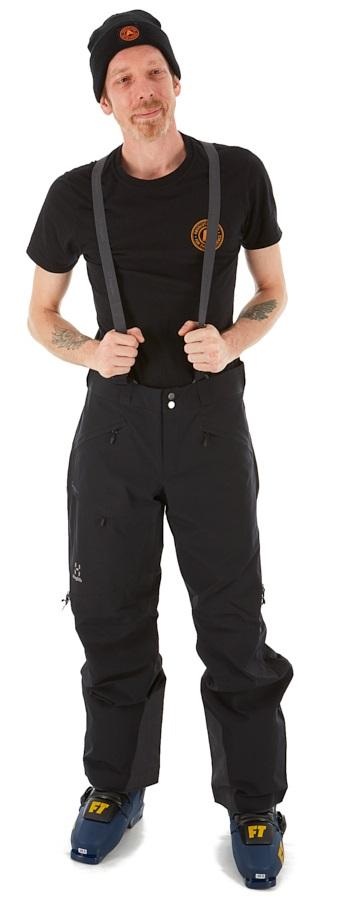 Haglofs Line 2L Ski/Snowboard Pants, XL Black