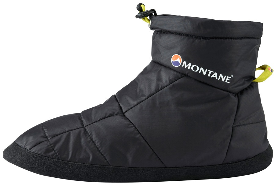 Montane Prism Bootie Insulated Camping Slippers L Black