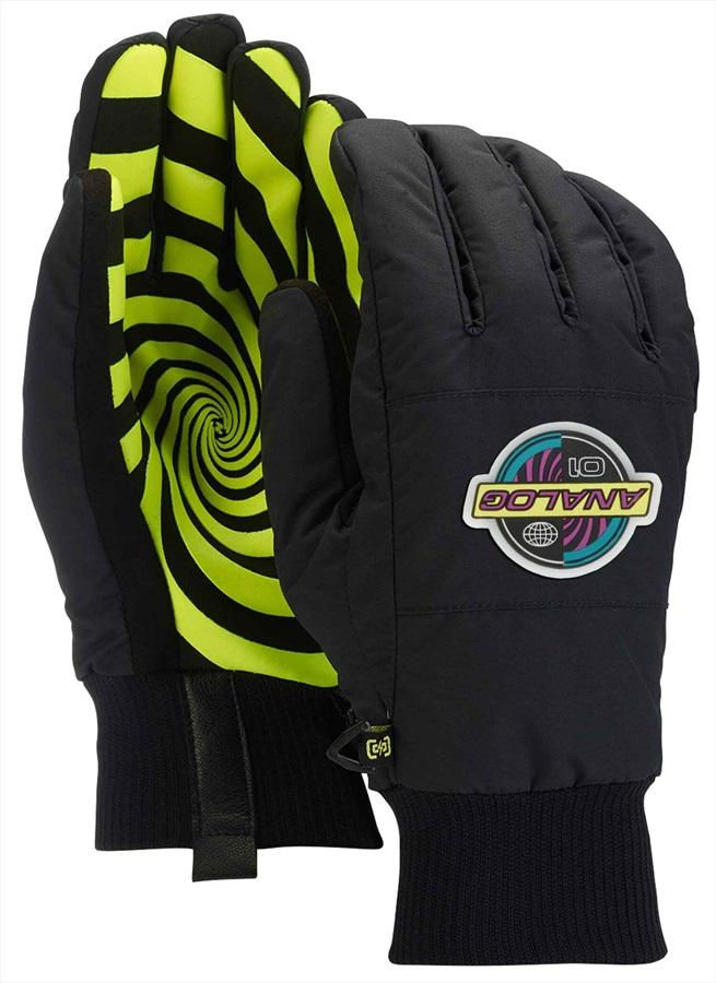 Analog Bartlett Ski/Snowboard Gloves, S Black
