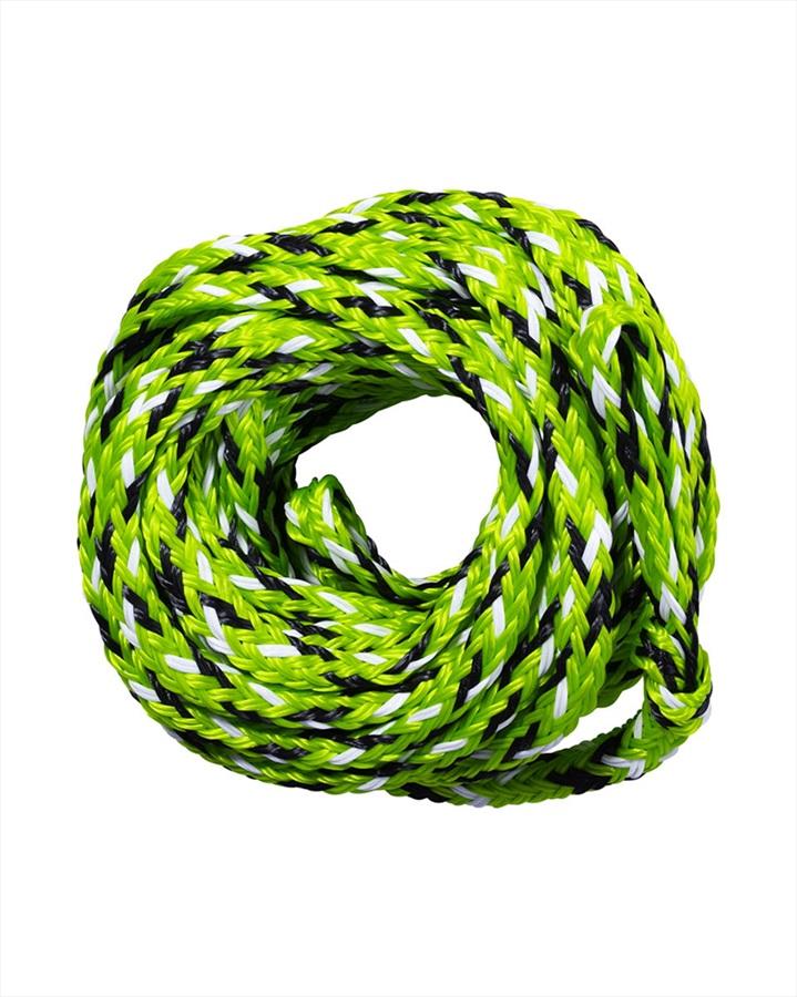 Jobe Heavy Duty Towable Tube Rope, For 10 Rider Tubes Green Black 2021