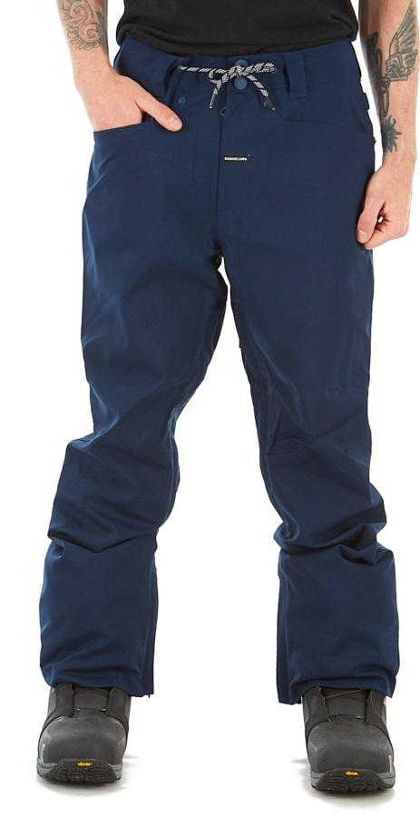 DC Adult Unisex Relay Ski/Snowboard Pants, M Navy