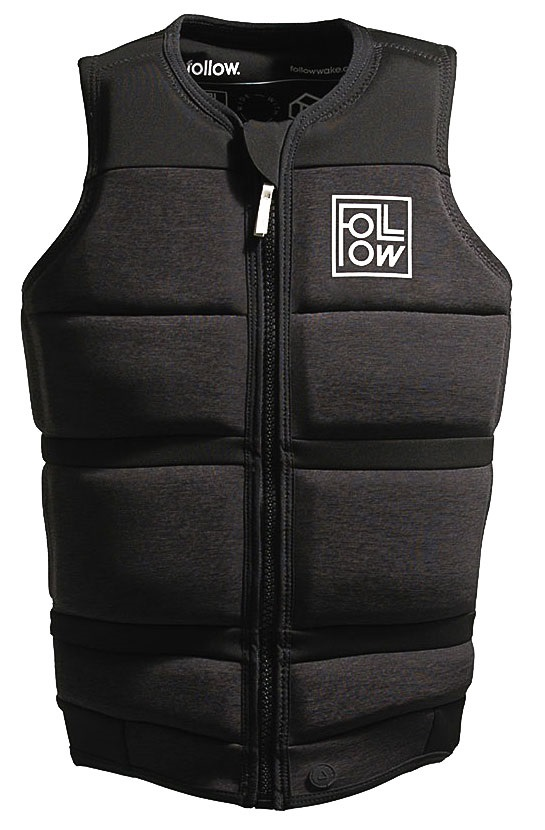 Follow Surf Edition Wakeboard Impact Vest Jacket, M Charcoal 2021