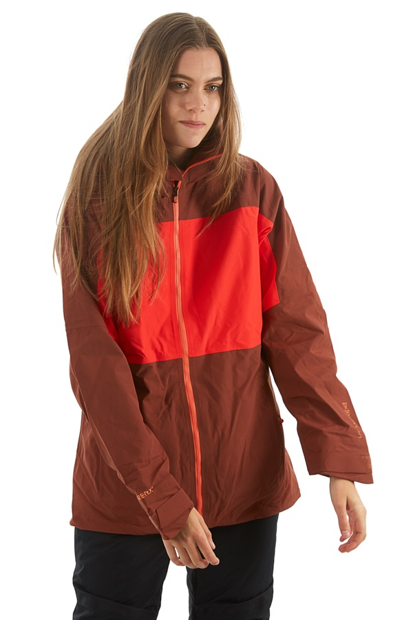 Burton [ak] 2L Blade Womens Gore-Tex Snowboard Jacket XS Matador/Coral