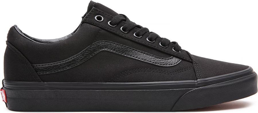 Vans Old Skool Skate Trainers/Shoes, UK 10 Black/Black