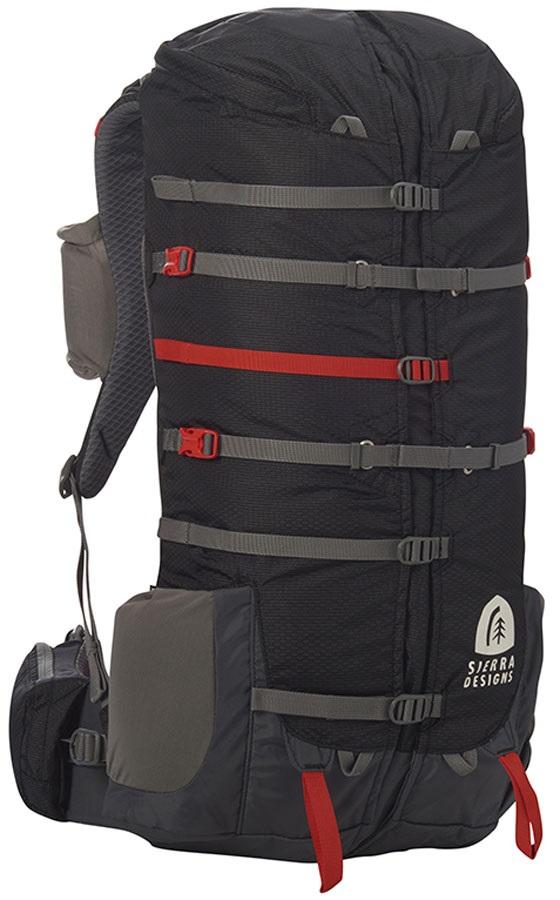 Sierra Designs Flex Capacitor 25-40L S/M Expandable Daypack, S/M Peat