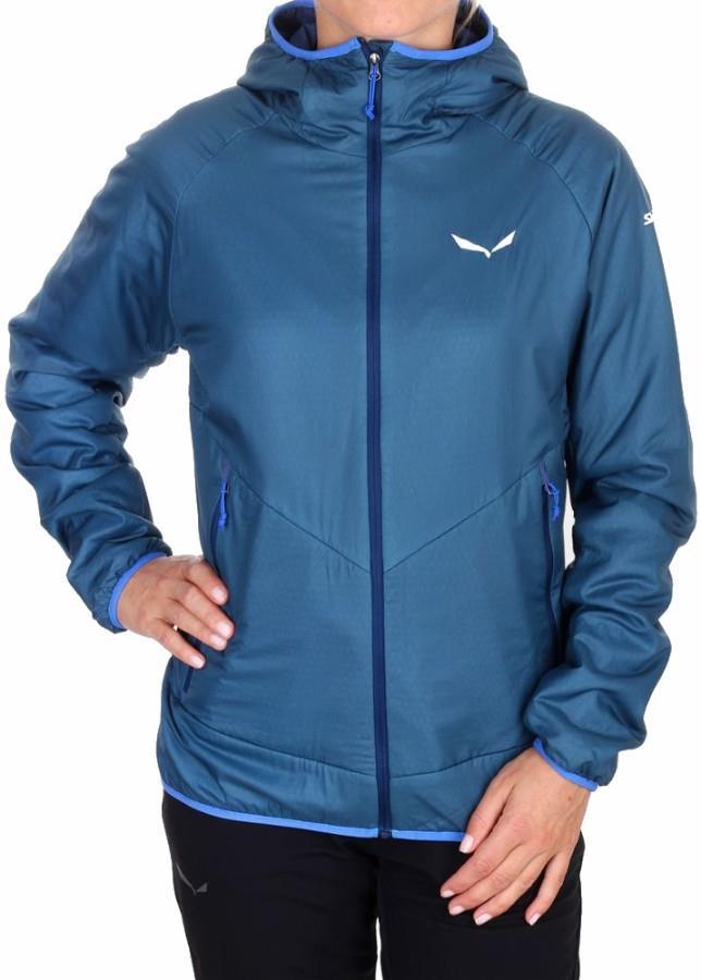 Salewa Sesvenna 2 PTC Jacket Women's Insulated Polartec UK 14 Blue