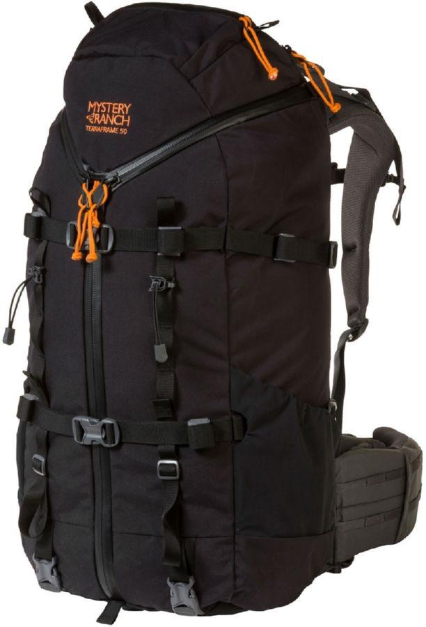 Mystery Ranch Womens Terraframe 3-Zip 50 M Trekking Backpack, 50l Black