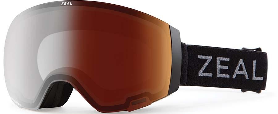 Zeal Portal Automatic GB Snowboard/Ski Goggles, M Dark Night